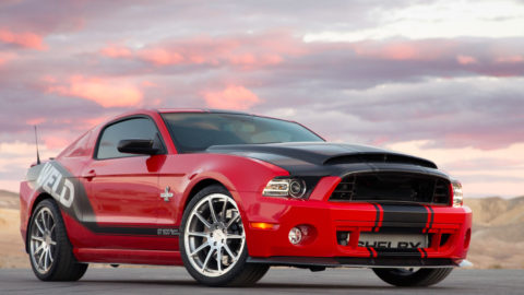 Red Ford Mustang - Weld Speed 10 Two-Piece Forged Wheels